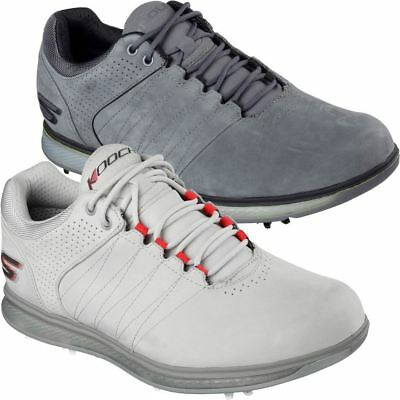 Skechers Golf Mens GO Pro 2 LX Spiked Waterproof Golf Shoes (Skechers Go Golf Pro 2 Lx Golf Shoes)