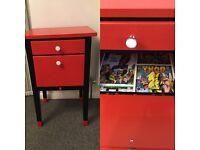 Marvel superheroes bedside cabinet
