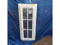 UPVC Window 470mm x 1150mm ref 259