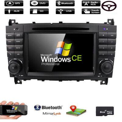 DAB+ Mercedes Benz C/CLK KLASSE W203 W209 Autoradio DVD GPS RDS