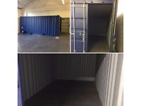 Lockable storage space available