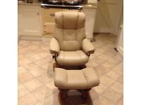 Stressless Chair and stool-Ekornes