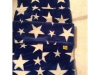 Buggy Snuggle Blue with white stars new