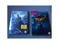 The dark knight dvds