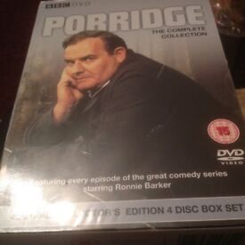 4Disc DVD Set BBC PORRIDGE