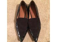 Worn Flat Shoes Size 8 (NEXT)