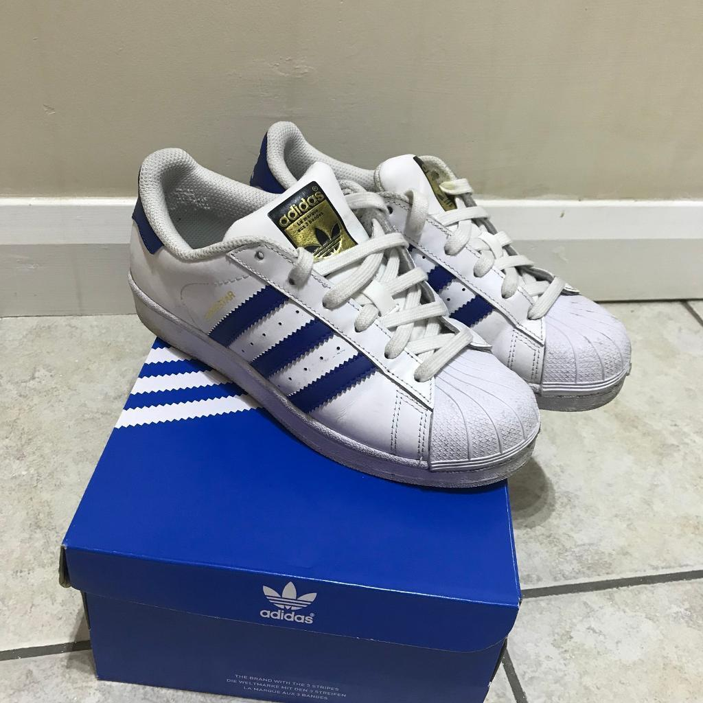 Adidas uk3 superstar blue