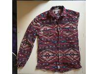 Logg Hipster Vintage Shirt Size M