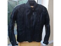 Motorbike leather jacket & trousers (ladies)