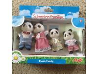 Panda sylvanian family