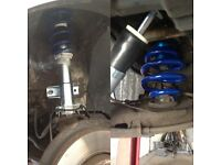 VW T4 AND T5 SUSPENSION LOWERING