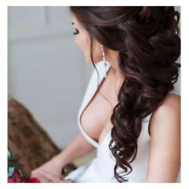 DREAM WEDDING HAIR ** MAKE IT YOUR EVERYDAY REALITY**RUSSIAN HAIR EXTENSIONS**FULL STOCK