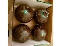4 x indoor bowling balls size 4