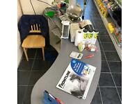 Shop reception desk