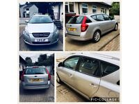57 PLATE (NOV 2007) AUTOMATIC ESTATE PETROL 1600CC 5 SEATER SILVER MOT TO 31/1/2019