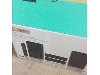 100 watts hifi system brand new in box