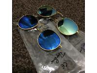 Gold Frame Rayban Sunglasses