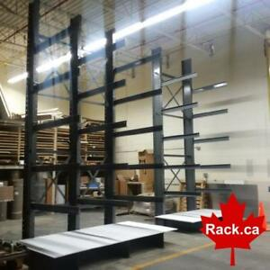 Cantilever Racking In Stock Ready For Quick Ship - Next Day Shipping or Pick Up