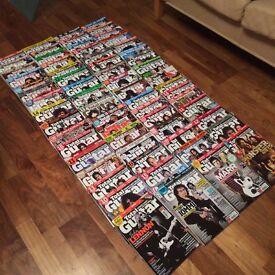 Huge Job Lot Bundle of over 90 + Mixed Guitar Magazines - inc 60+ Total Guitar, Guitarist + more!