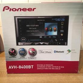 Pioneer double din cd avh-8400bt