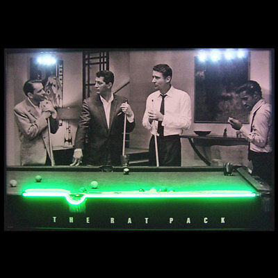 The Rat Pack Neon/ LED Picture Pool 3RATNL w/ FREE Shipping