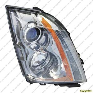 Head Light Driver Side Halogen High Quality Cadillac CTS 2008-2015