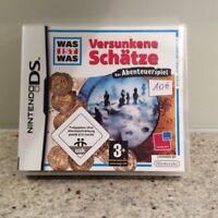 Nintendo DS-Versunkene Schätze-Was ist was-cooles Spiel Nordrhein-Westfalen - Moers Vorschau