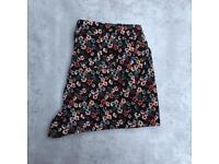 H&M floral corduroy shorts size 6