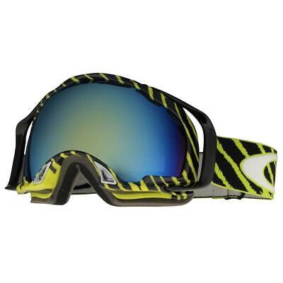 Oakley 57-605 Splice Shaun White Enamel Mint w/ Emerald Lens Snow Ski Goggles .
