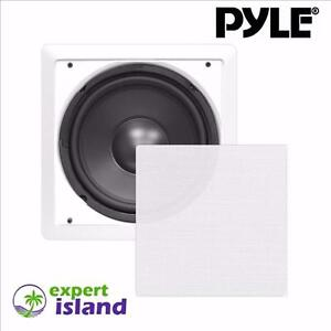 PYLE PDWIS12 In-Wall / In-Ceiling 12-inch Flush Mount High Power Subwoofer