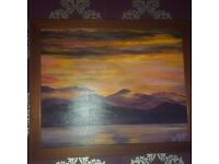 Ted Martin oil on canvass signed 2006