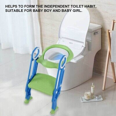 Best Kids Potty Training Seat W/Step Stool Ladder for Child Toddler Toilet