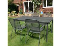 Oase Garden table and chairs
