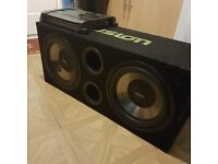 sub and amp for sale £60