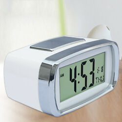 Digital LED Clock Table Alarm Clock Time Date Week Display Battery Operated