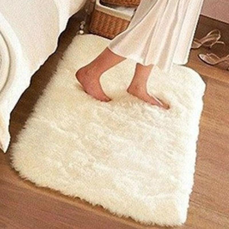 Household Blanket Super Soft Faux Fur Rug for Bedroom Sofa L
