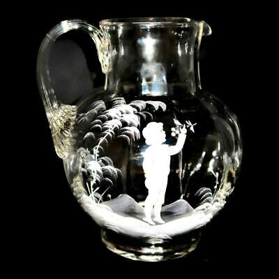 Vintage Clear Glass Mushroom with Attached Crystal Butterfly on Top In Excellent Vintage Condition From 1980/'s