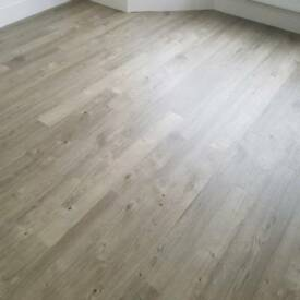 amtico spacia luxury flooring (sun bleached oak)