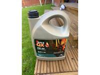 Unopened 5 litre Triple QX 5W-30 oil
