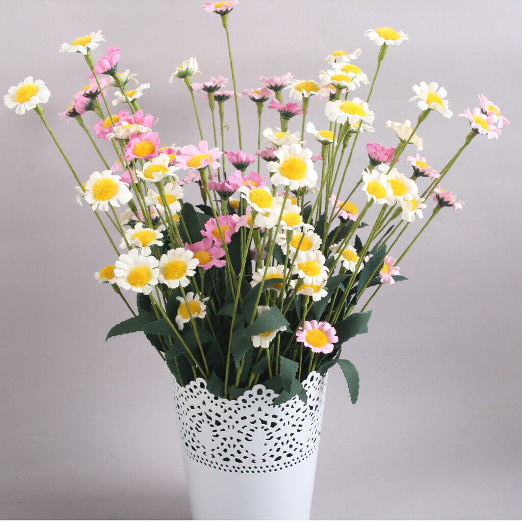 New 1 Bunch Artificial Fake Pe Daisy Flower Bouquet Room Party