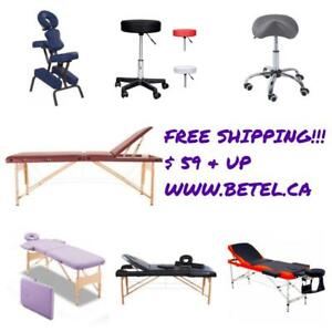 BRAND NEW @ WWW.BETEL.CA || Massage Physio & Esthetics Tables, Massage Chairs and Stools || We Deliver FREE!!