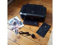 Canon IP4700 inkjet photo printer with spare ink