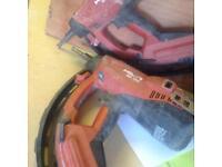 Hilton nail guns
