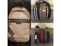 Gucci backpack available in beige and black top quality london cheap ealing kilburn northwest north