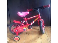 GREAT CHILDS LEARNER BIKE – WITH REMOVABLE STABILISERS