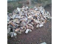 Reclaimed Bricks, approx 1000