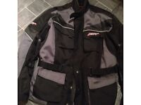 Mans XXL motor bike jacket in very good condition