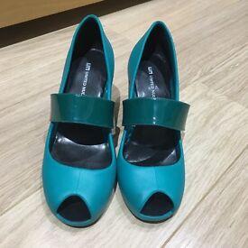 United Nude Mono Jane wedge shoes