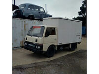 Left hand drive Nissan Cabstar 2.5 diesel 3.5 Ton Isothermic / Cold Room box lorry.