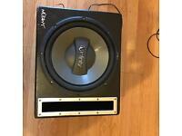 Amp +sub+box